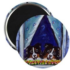 AUSTRALIAN SHEPHERD window Magnet