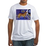Nova Scotia Duck-Tolling Retriever Fitted T-Shirt