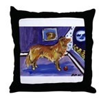 Nova Scotia Duck-Tolling Retriever Throw Pillow