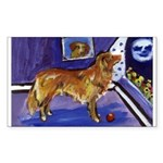 Nova Scotia Duck-Tolling Retriever Sticker (Rectan