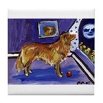 Nova Scotia Duck-Tolling Retriever Tile Coaster
