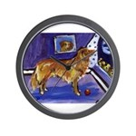 Nova Scotia Duck-Tolling Retriever Wall Clock