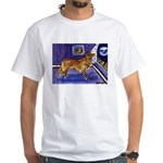 Nova Scotia Duck-Tolling Retriever White T-Shirt