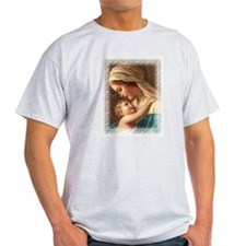 Madonna and Child Ash Grey T-Shirt