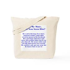 Lost Mate Blue Tote Bag