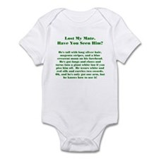 Lost Mate Green Infant Bodysuit