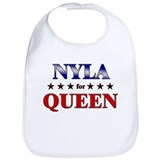 NYLA for queen Bib