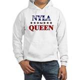 NYLA for queen Hoodie Sweatshirt