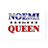 NOEMI for queen Postcards (Package of 8)