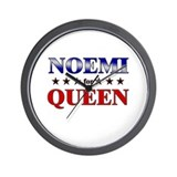 NOEMI for queen Wall Clock