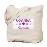 UGANDA socialite Tote Bag