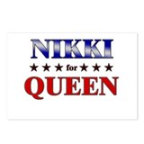NIKKI for queen Postcards (Package of 8)