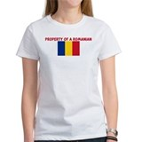 PROPERTY OF A ROMANIAN Tee