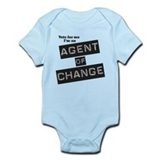 Agent of Change Infant Bodysuit