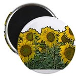 Sunflowers Magnet