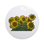 Sunflowers Ornament (Round)