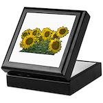 Sunflowers Keepsake Box