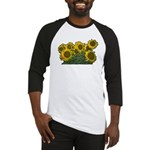 Sunflowers Baseball Jersey