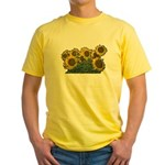 Sunflowers Yellow T-Shirt