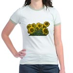 Sunflowers Jr. Ringer T-Shirt