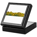 Sunflower Field Keepsake Box