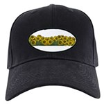Sunflower Field Black Cap