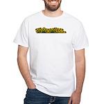 Sunflower Field White T-Shirt