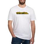 Sunflower Field Fitted T-Shirt