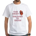 This Heart: Rickie (C) White T-Shirt