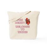 This Heart: Rickie (C) Tote Bag