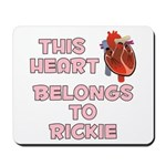 This Heart: Rickie (C) Mousepad