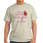 This Heart: Rickie (C) Light T-Shirt