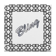 Bling Tile Coaster