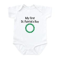 My First St. Patrick's Day Infant Bodysuit
