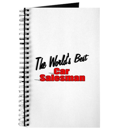 """The World's Best Car Salesman"" Journal"