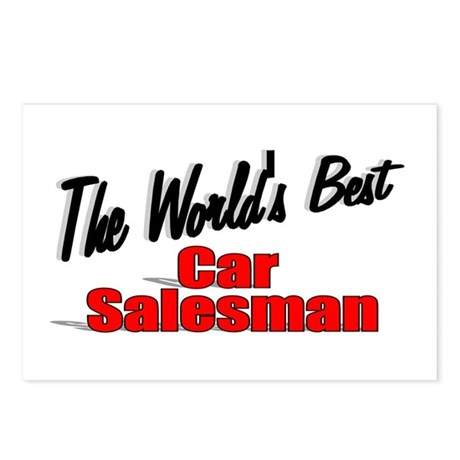 """The World's Best Car Salesman"" Postcards (Package"