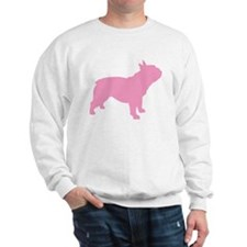 Pink French Bulldog Sweatshirt