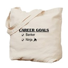 Banker Career Goals Tote Bag