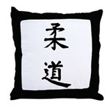 Judo Throw Pillow