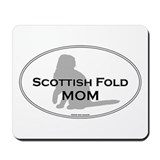 Scottish Fold Mom Mousepad