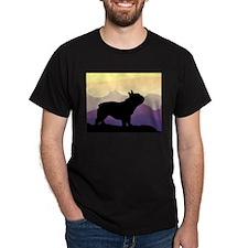 Frenchie Purple Mt. T-Shirt