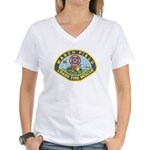 March Field Fire Women's V-Neck T-Shirt