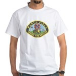 March Field Fire White T-Shirt