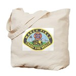 March Field Fire Tote Bag