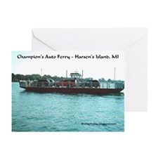 Harsens Island Ferry Greeting Cards (Pk of 10)