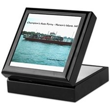 Harsens Island Ferry Keepsake Box