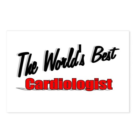 """The World's Best Cardiologist"" Postcards (Package"