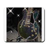 Semi Glow Guitar Mousepad