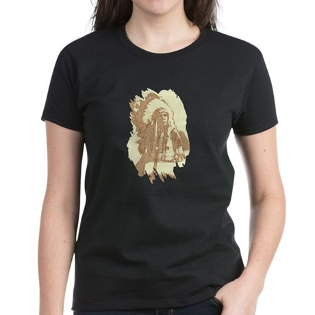 Indian Chief Women's Dark T-Shirt
