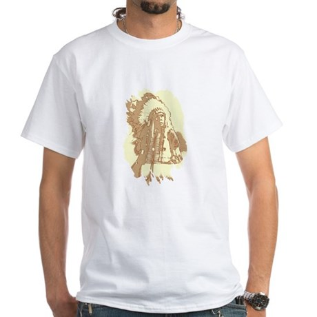 Indian Chief White T-Shirt